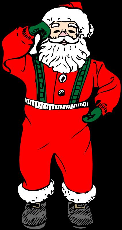 Free dancing santa