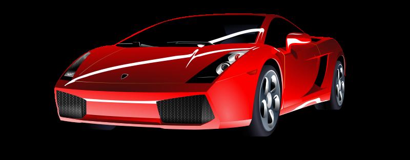 Free Red Lamborghini