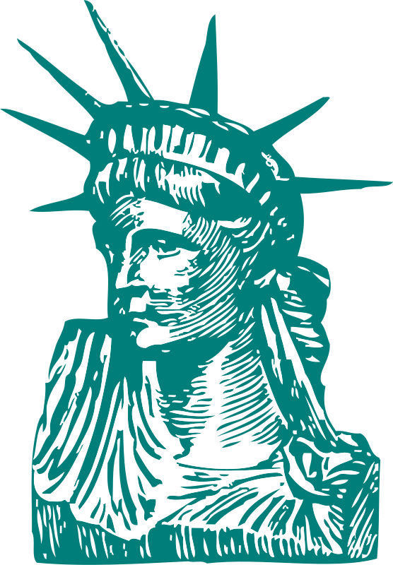 Free Statue of Liberty detail