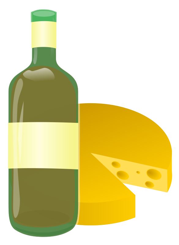 Free wine and cheese