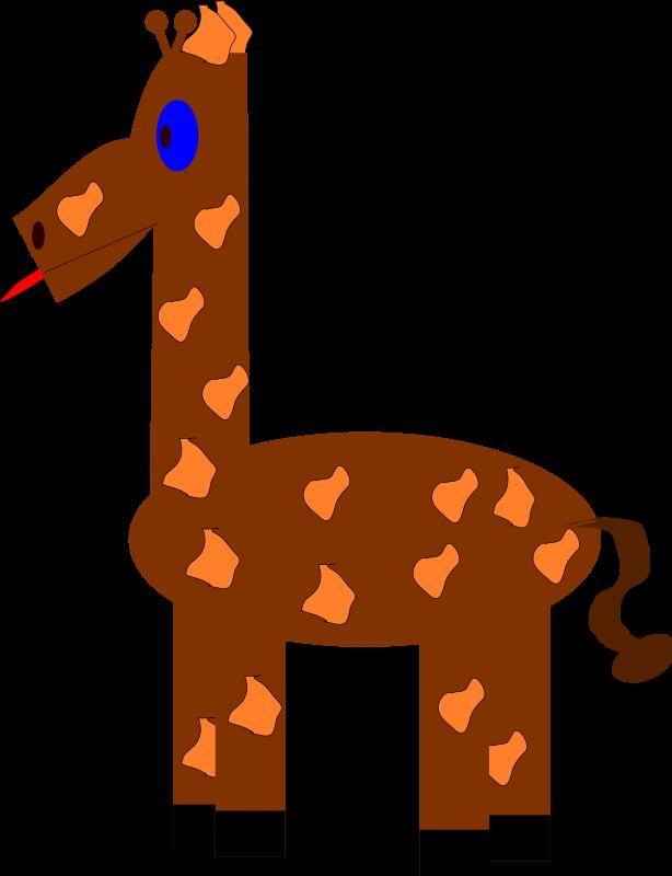 Free Funny giraffe
