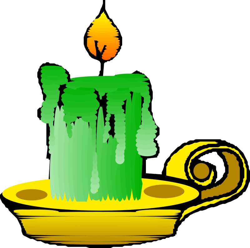 Free Green candle