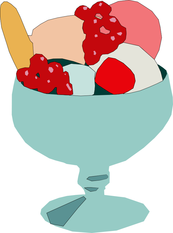 Free Clipart: Ice cream cup | Machovka