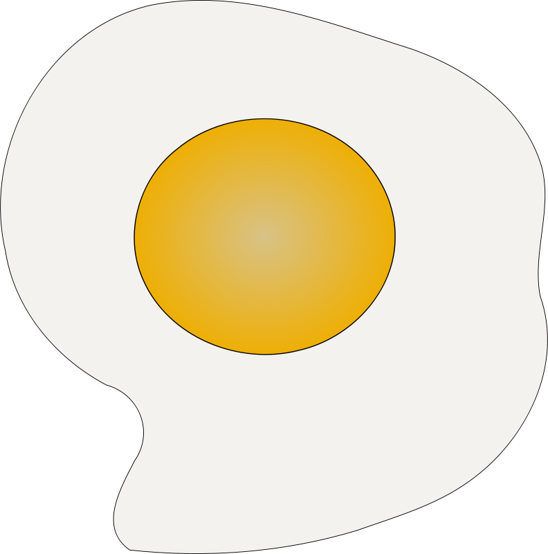 Free sunnyside-up egg