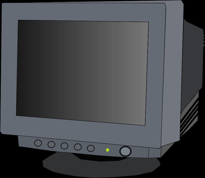 Free monitor CRT