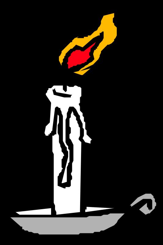 Free Burning candle