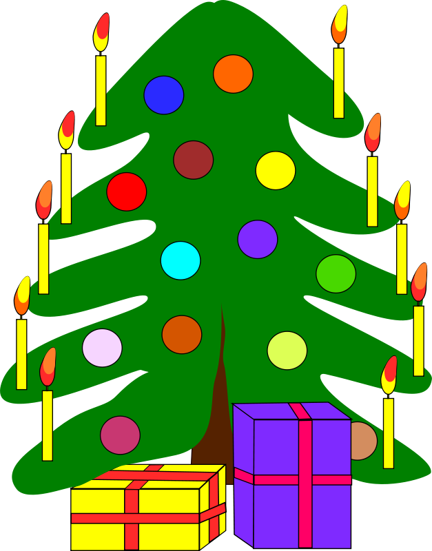 Free Clipart: Christmas tree | Machovka