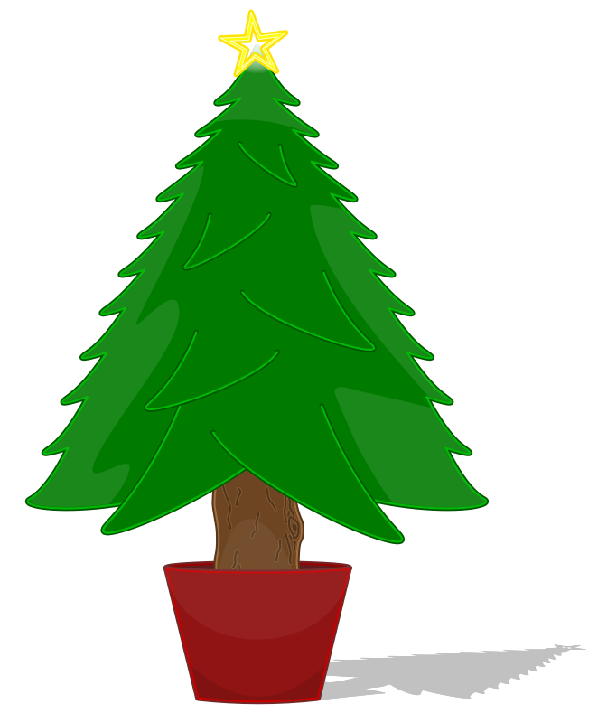 Free Glossy Christmas Tree