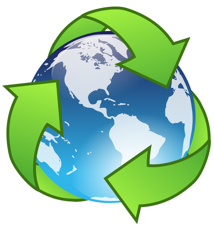 Free crystal earth recycle