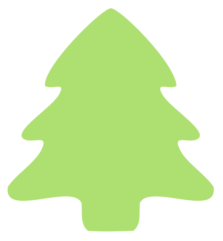 Free Clipart Christmas Tree Icon