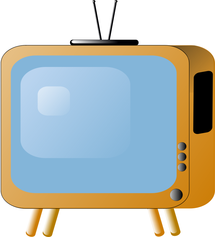 Free old_styled_tv_set