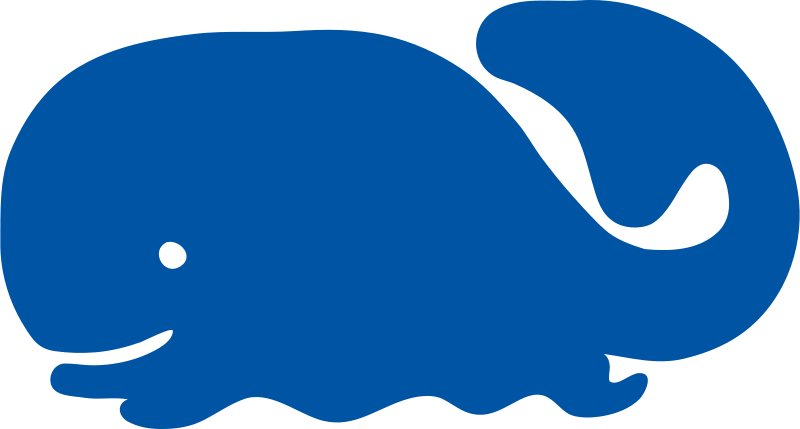 Free whale icon
