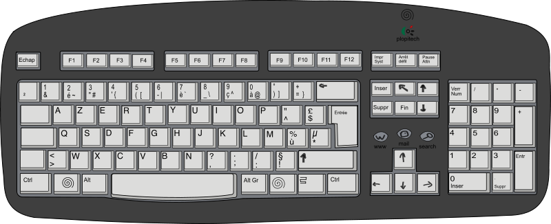 Free Plopitech keyboard