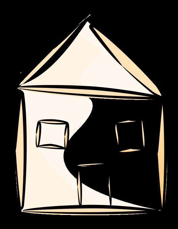 Free stylized house