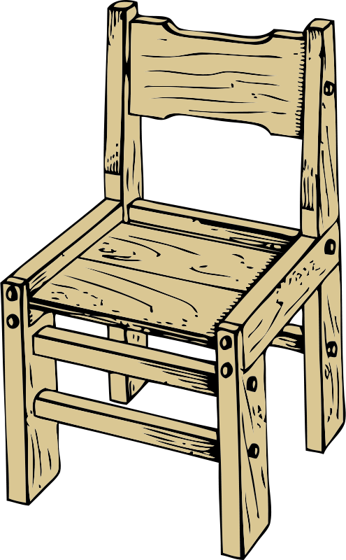 Free Clipart Wooden Chair