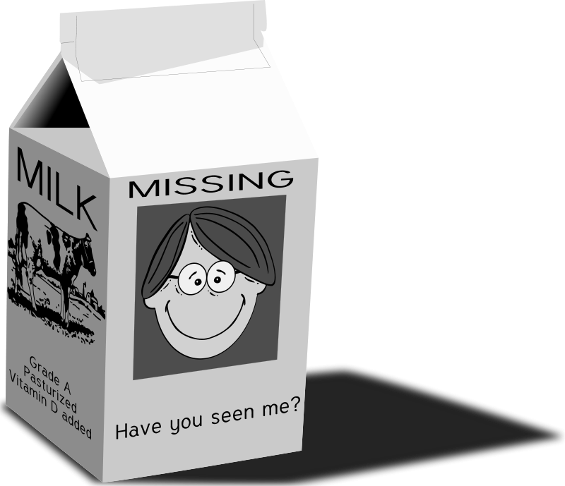 Free milk carton