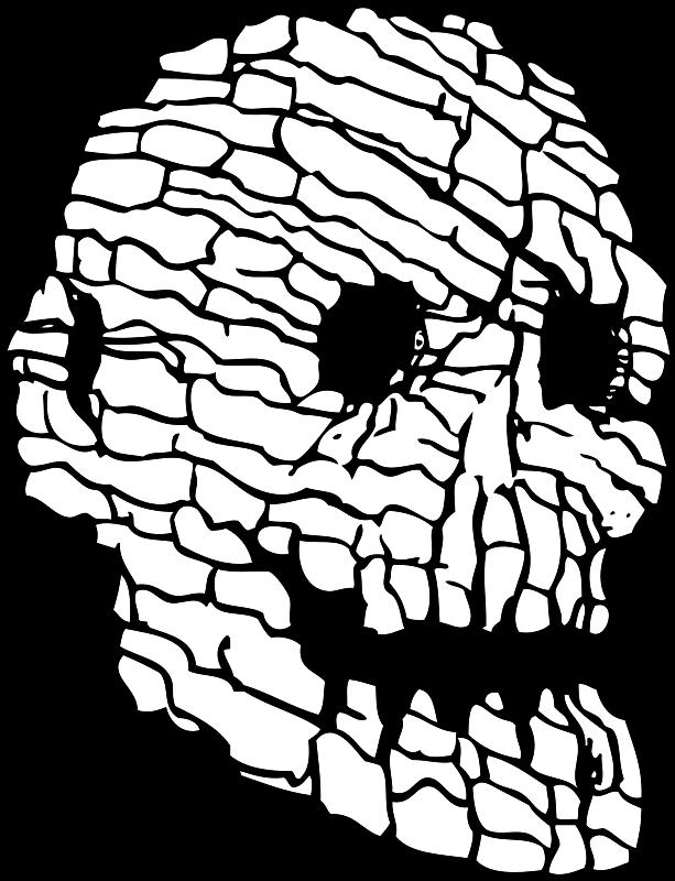 Free rock skull