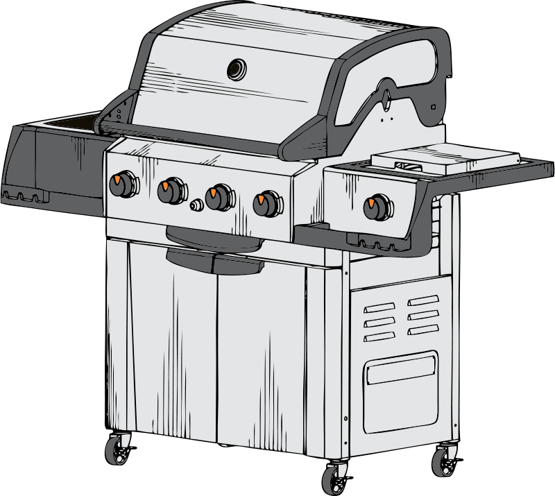 Free barbeque grill