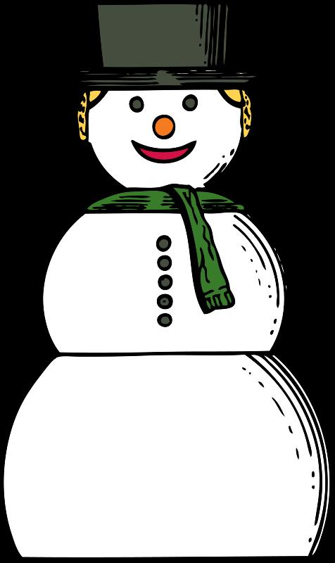 Free snow woman