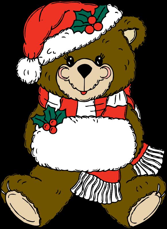 Free Christmas Bear