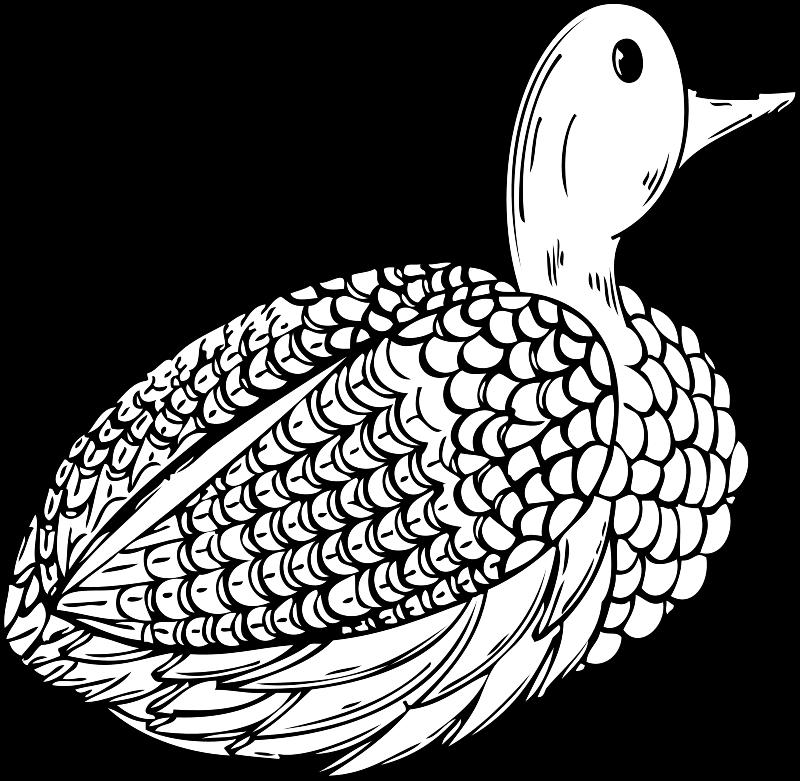 Free duck decoy