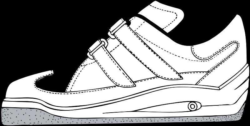 Free Clipart Gym Shoe