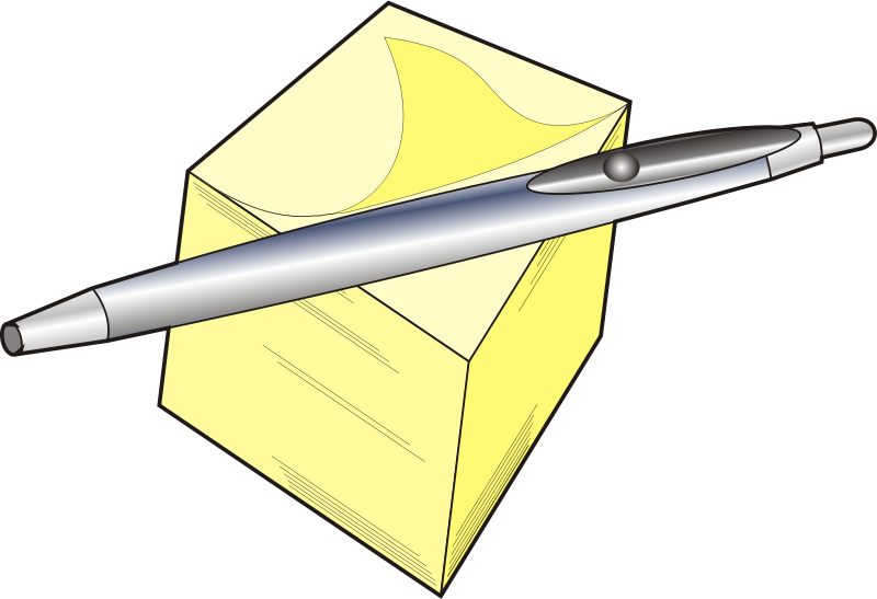 Free Pen and pad