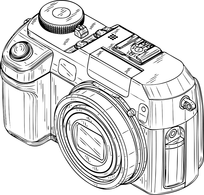 Free Clipart Digital Camera Johnny Automatic