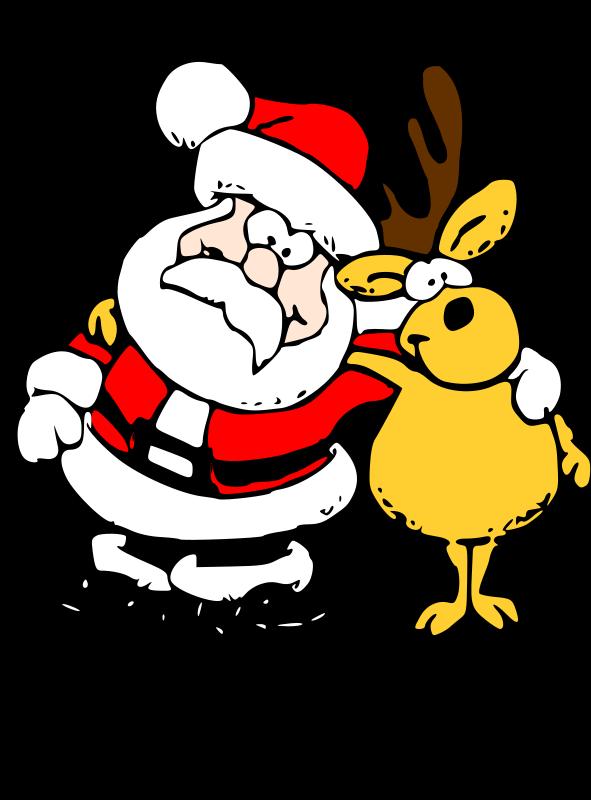 Free Santa and Reindeer