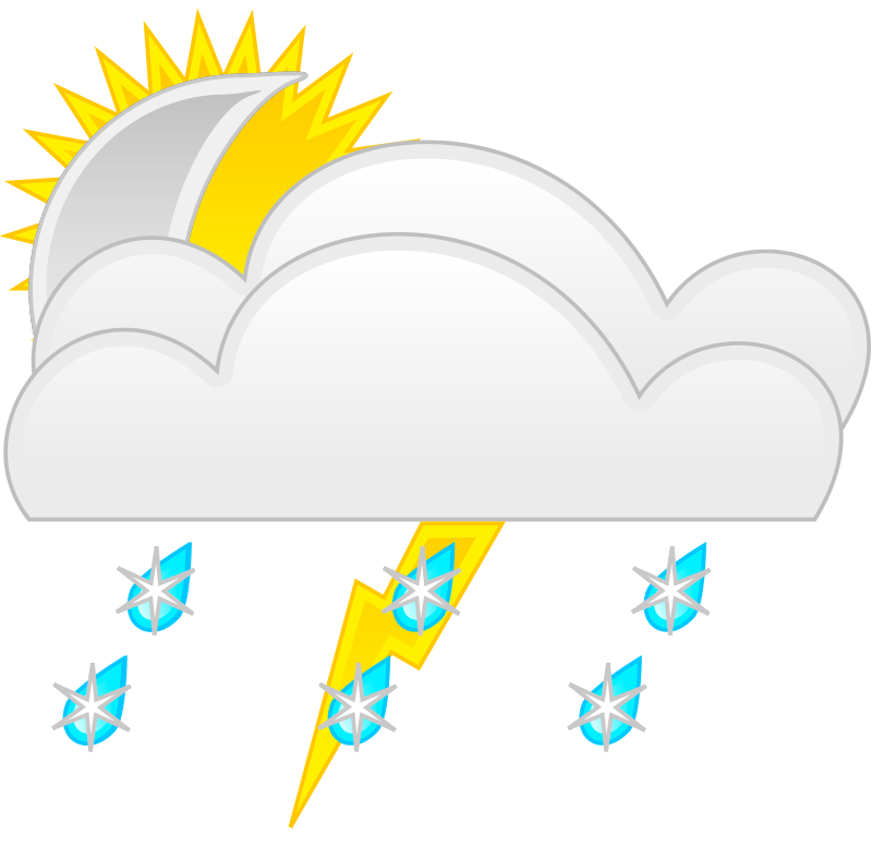 Free weather symbols template