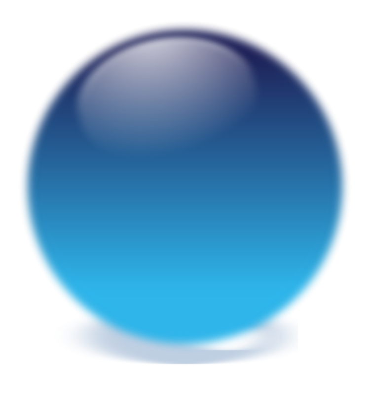 Free blue cristal ball