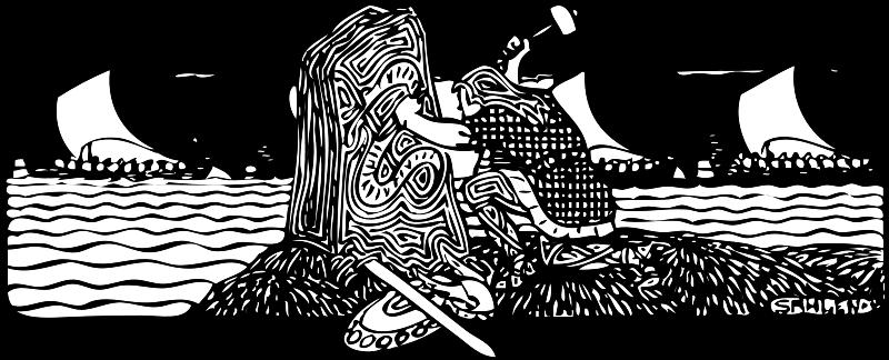 Free Viking scene