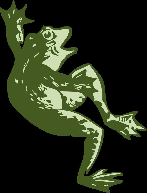 Free dancing frog