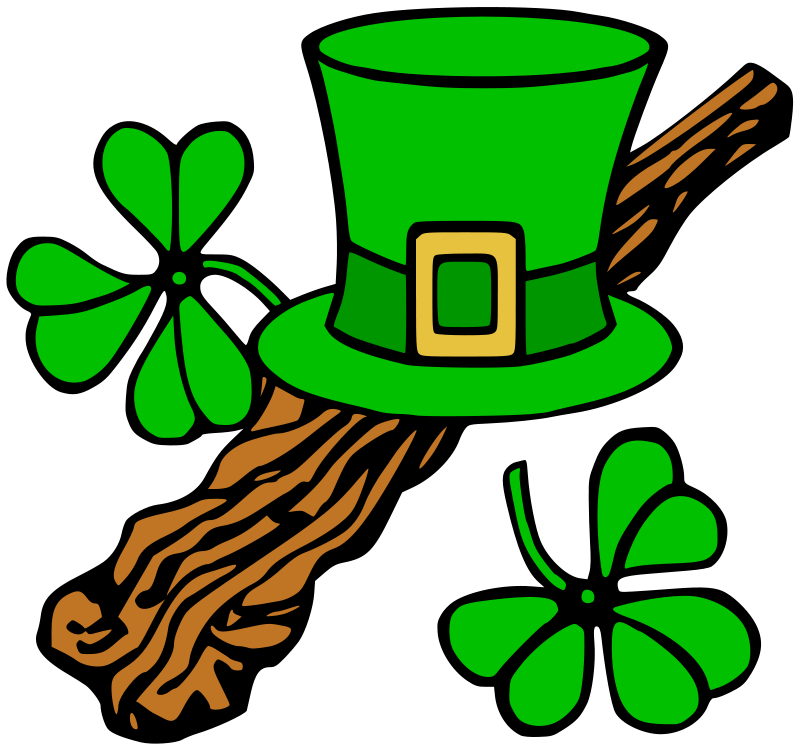 Free Hat and shillelagh (colour)
