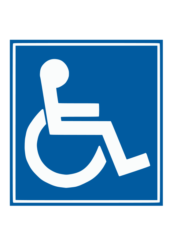 Free Handicap sign