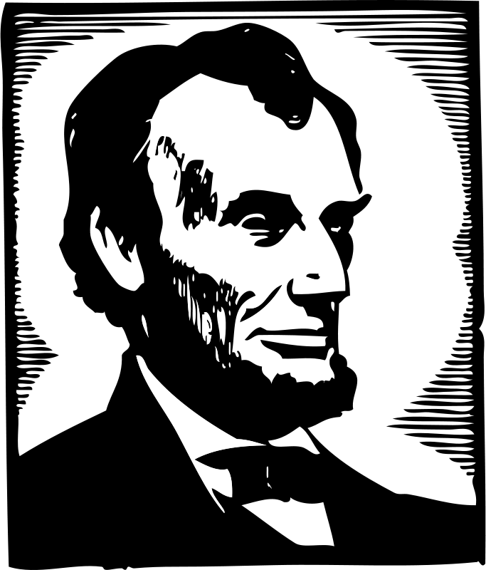 Free Clipart: Abraham Lincoln | johnny_automatic