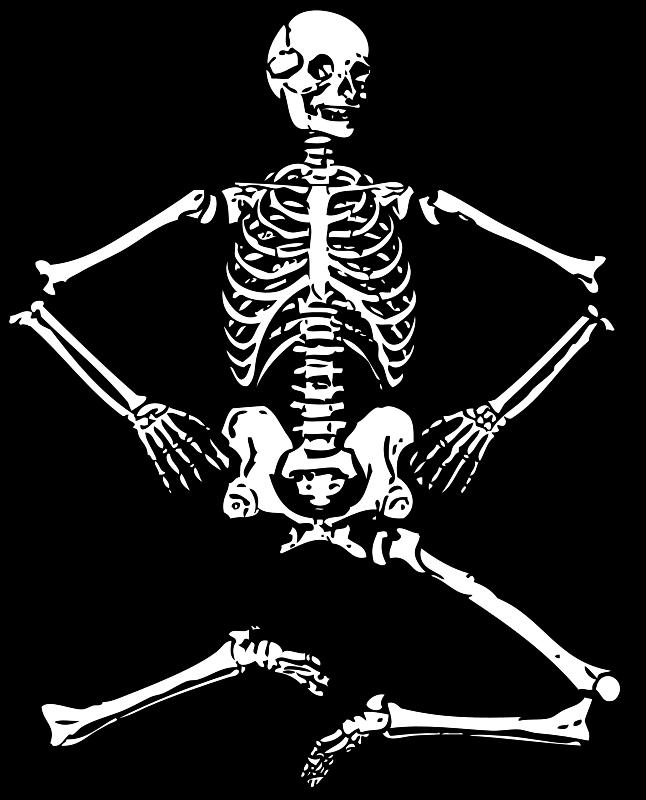 Free skeleton