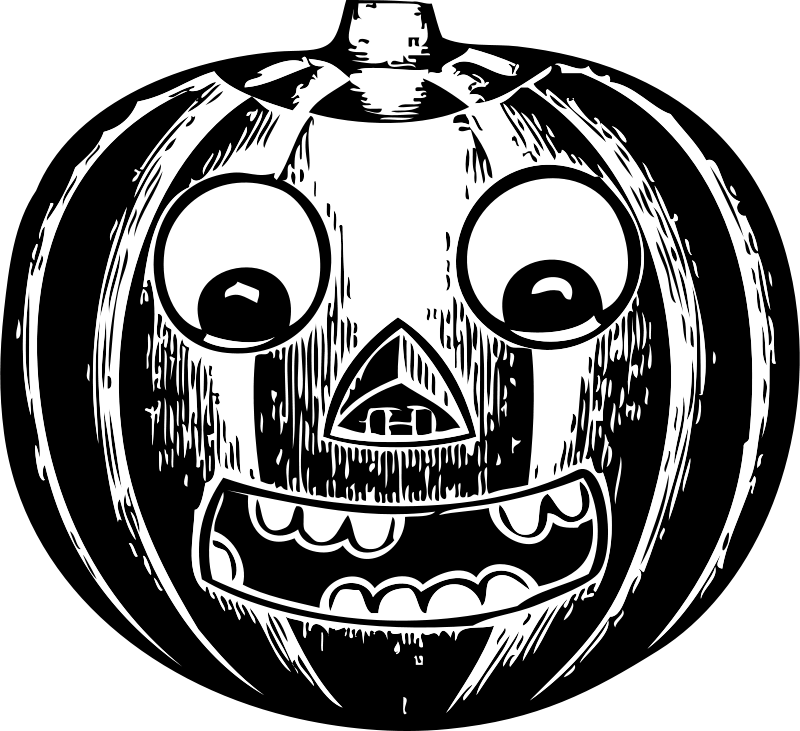 Free Clipart Jack O Lantern With Eyes