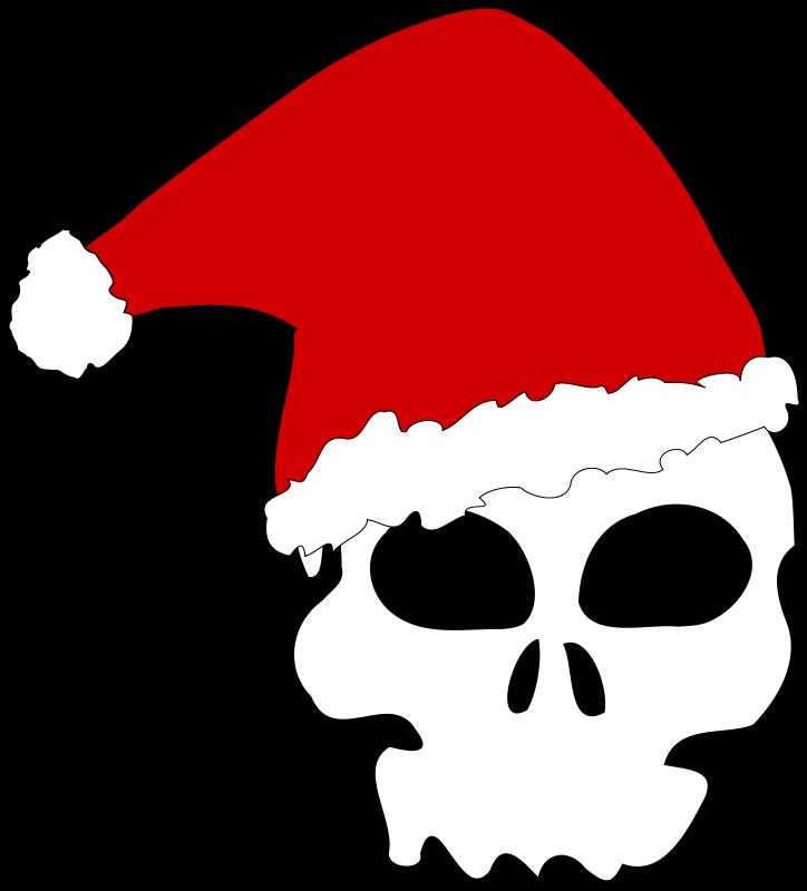 Free Santa skull