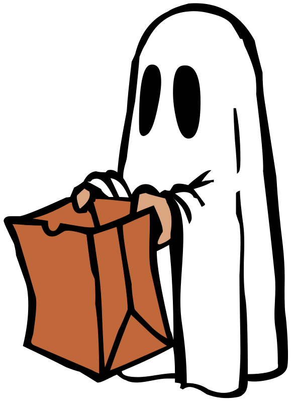 Free Ghost with bag (colour)