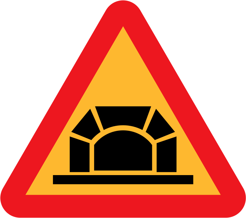 Free Tunnel Roadsign