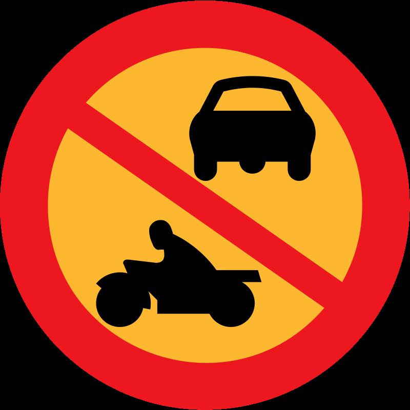 Free No Motorbikes or cars