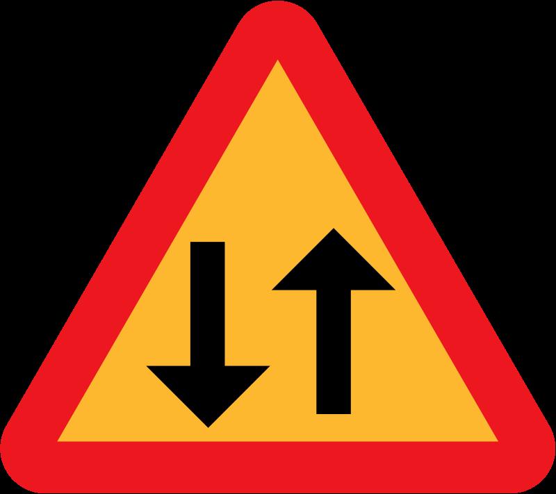 Free Arrowup Arrowdown directional sign