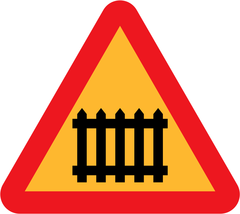 Free fence/gate roadsign