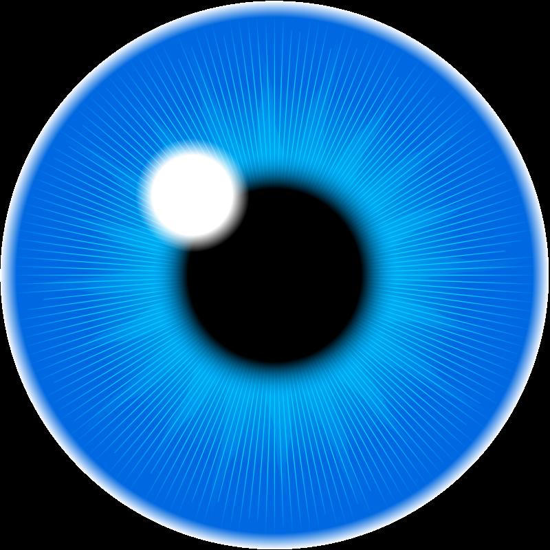 Free blue iris