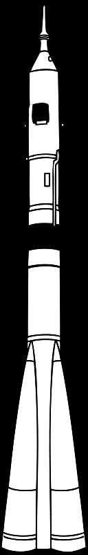 Free Clipart: Soyuz rocket | johnny_automatic