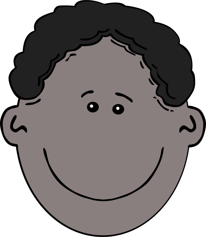 Free Boy Face Cartoon
