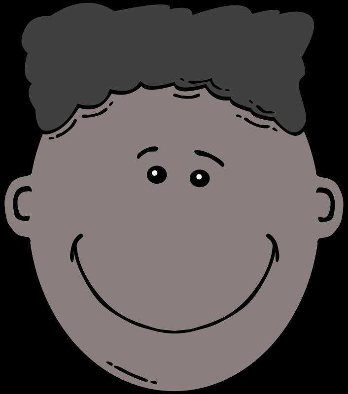 Free Boy Face Cartoon