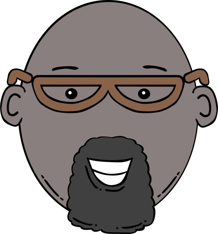 Free Man Face Cartoon