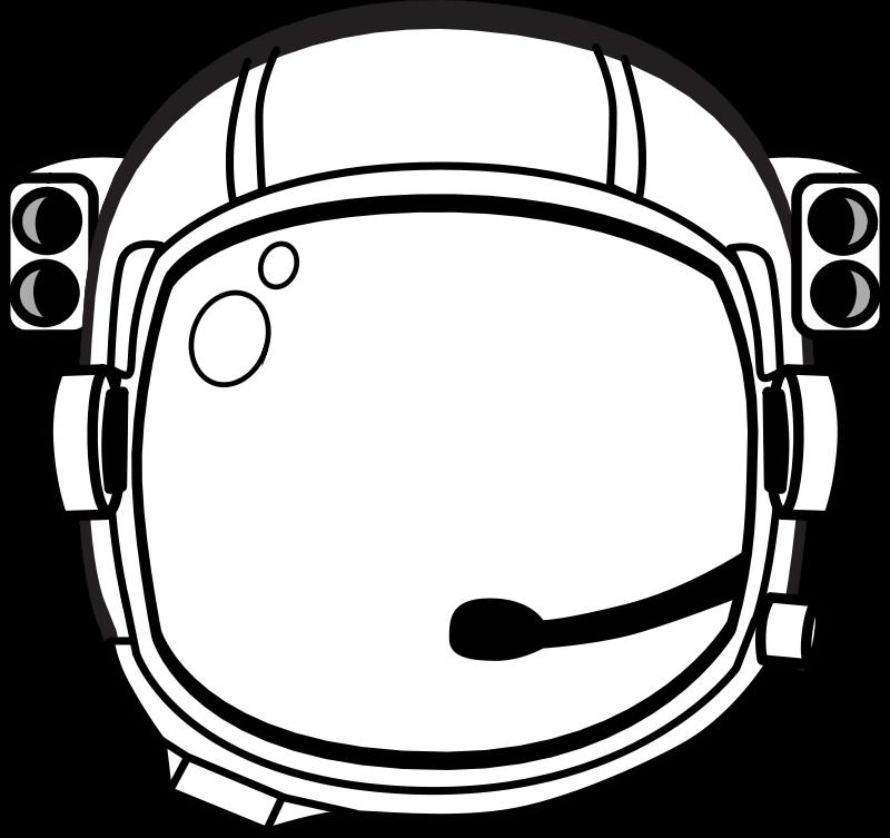 Free astronaut's helmet